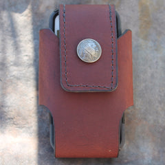 Custom Cell Phone Case with INDIAN NICKEL concho