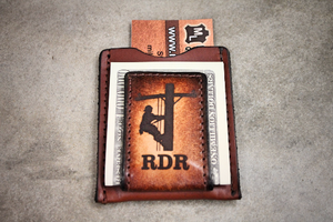 Lineman Leather Money Clip Wallet