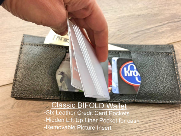 LINEMAN  LEATHER  WALLET