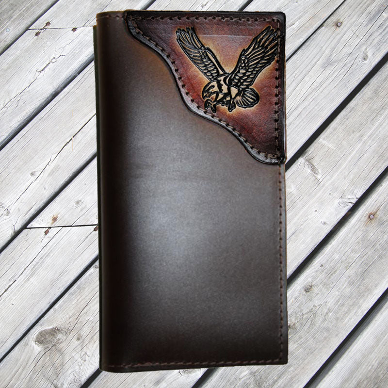 Brown Eagle Leather Wallet