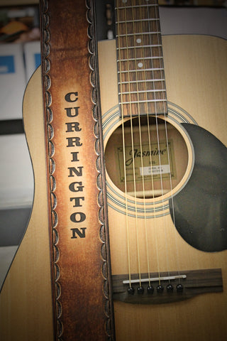 Guitar Strap, Personalized Free!