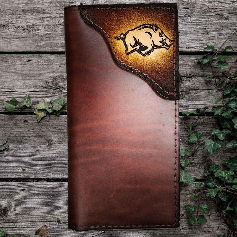 Custom Sports Team Logo Leather Wallet