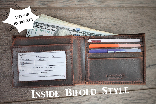 CLASSIC LEATHER BIFOLD Wallet