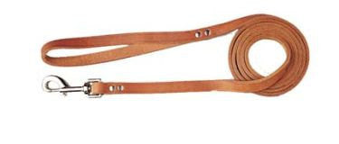 Handcrafted Leather Big Dog Leash in Heavy Oil Tanned Leather