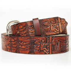 Lineman Leather Belt Design
