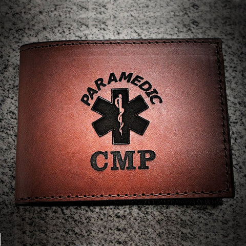 EMT Paramedic Classic Leather Wallet