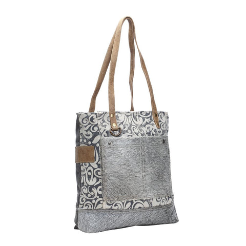 HAIRON DOUBLE POCKETS TOTE BAG   SKU: S-1139