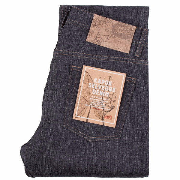 Naked & Famous Kapok Selvedge, weird guy