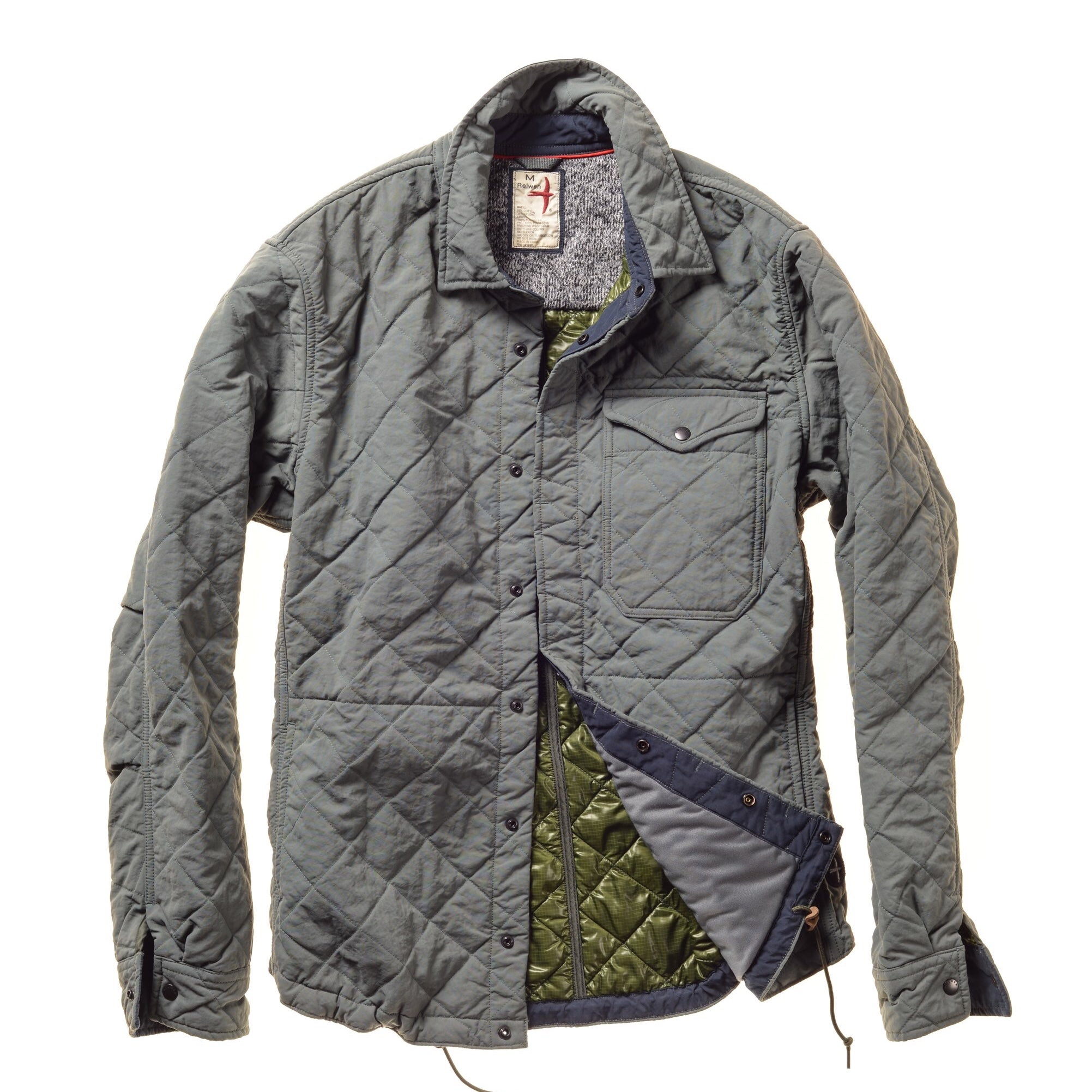Relwen - Quilted CPO Shirt Jacket