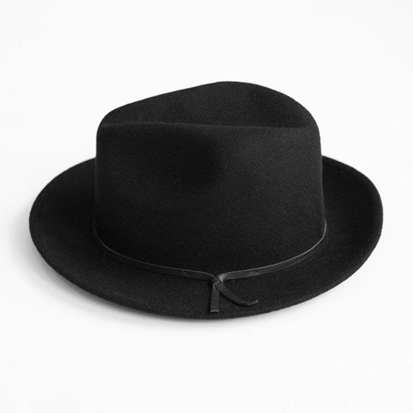 Yellow 108 -- Luke Fedora (Black)