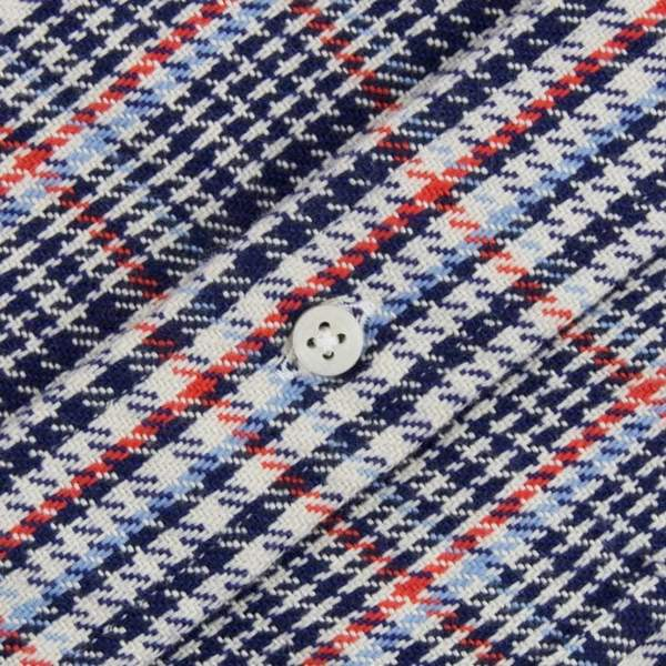 Gitman Bros. Vintage: Two Sided Houndstooth Shirt