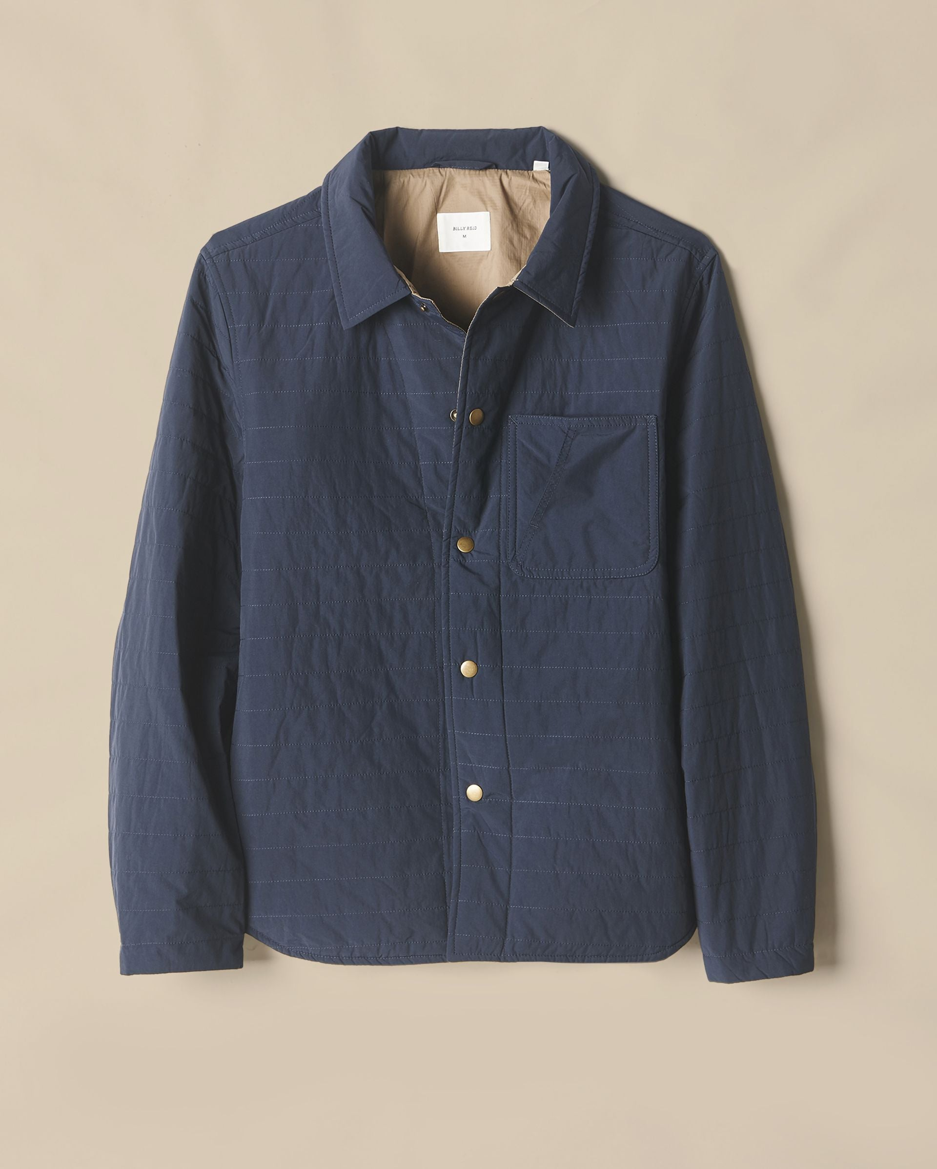 Billy Reid - Leroy Shirt Jacket - Navy