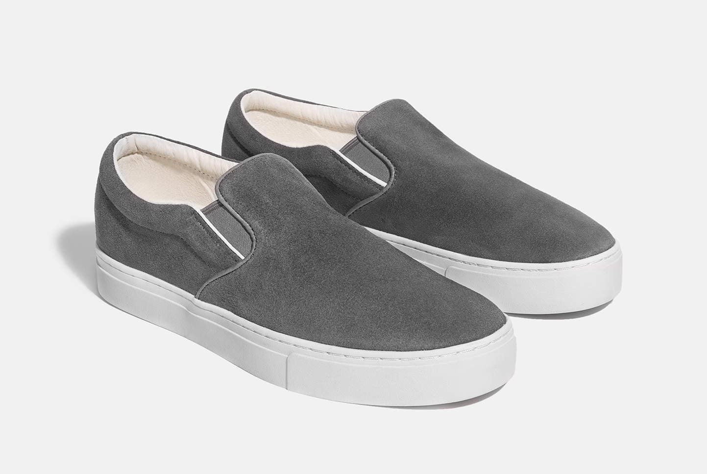 Saturdays NYC Vass Suede Slip-On Shoes