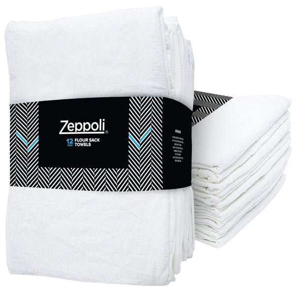 Zeppoli 12-Pack Flour Sack Towels - 31