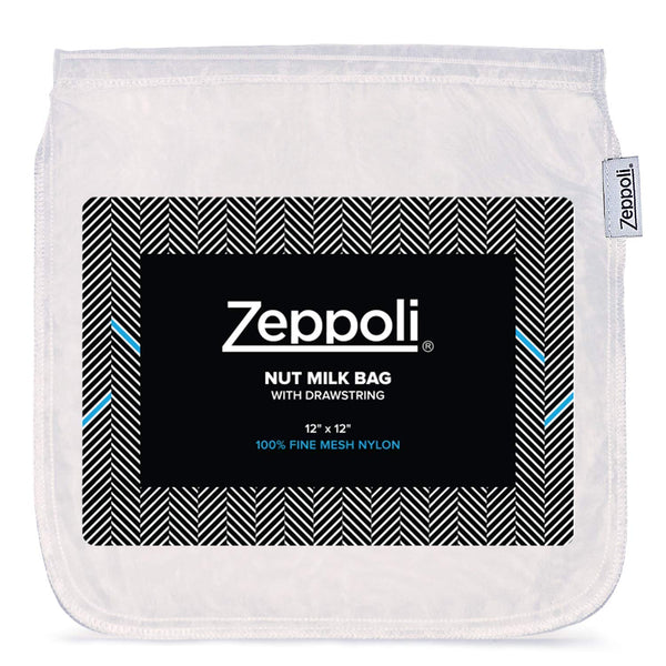 Zeppoli Nut Milk Bag - Reusable