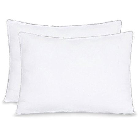 Celeep 2-Pack Pillow Ultra-soft Cotton, Sleeping Pillows with Lofty Microfiber Filling
