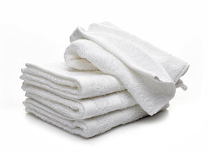 Washcloth Towels by Royal, 100% Natural Cotton, 12 x 12 (24-Pack/48-Pack/60-Pack)