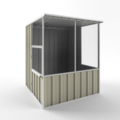 Aviary Bird House - 1.50m x 1.50m x 1.82m Height - Wide Span Sheds