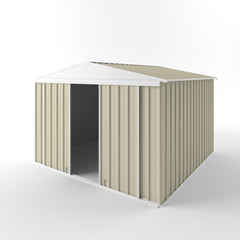 Gable Slider Garden Shed 3.00 (w) x 3.00 (h) x 1.80/2.10 (door/peak) - Wide Span Sheds