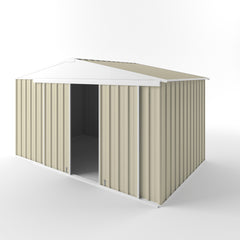 Gable Slider Garden Shed 3.75 (w) x 2.25 (h) x 1.80/2.18 (door/peak)
