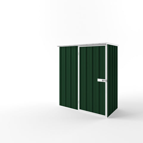 Flat Roof Garden Shed - 1.50m x 0.78m x 2.12m Height