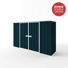 Flat Roof Garden Shed - 3.00m x 0.78m x 2.12m Height - Wide Span Sheds
