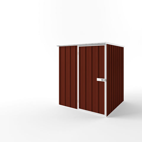 Flat Roof Garden Shed - 1.50m x 1.50m x 2.12m Height