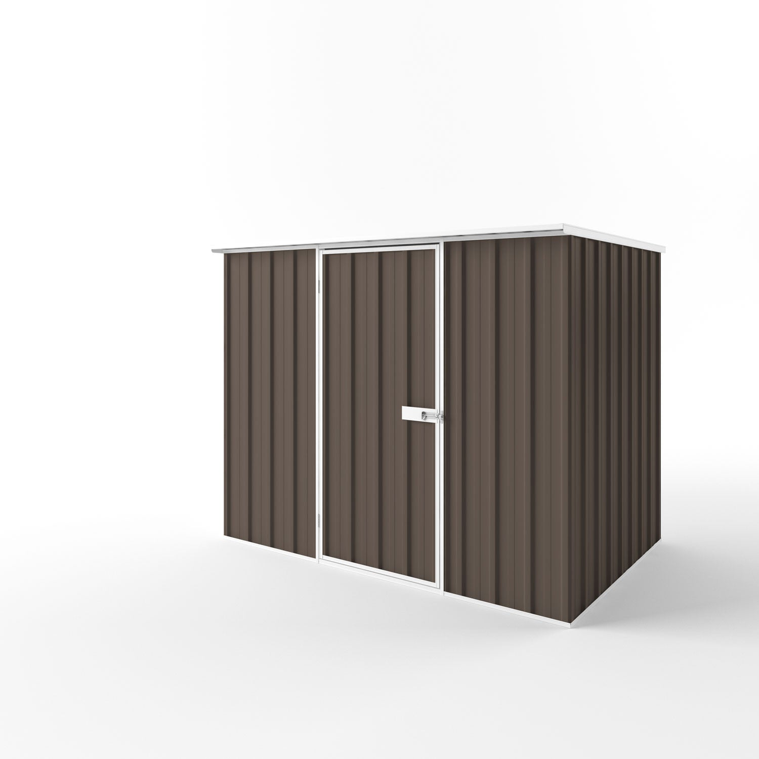 Flat Roof Garden Shed - 2.25m x 1.50m x 2.12m Height - Wide Span Sheds