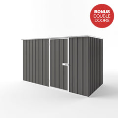 Flat Roof Garden Shed - 3.00m x 1.50m x 2.12m Height - Wide Span Sheds