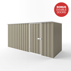 Flat Roof Garden Shed - 3.75m x 1.50m x 2.12m Height - Wide Span Sheds