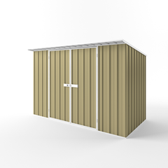 Skillion Garden Shed - 3.00m x 1.90m x 2.10m Height - Wide Span Sheds