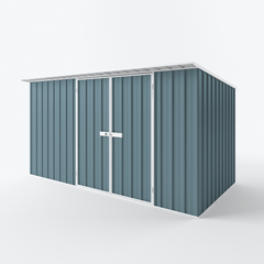 Skillion Garden Shed - 3.75m x 1.90m x 2.10m Height - Wide Span Sheds