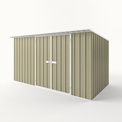 Skillion Roof Garden Shed in Wheat