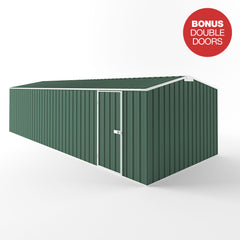 Truss Roof Garden Shed - 7.50m x 3.00m x 2.10m Height - Wide Span Sheds