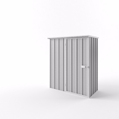 Flat Roof Garden Shed - 1.50m x 0.78m x 1.82m Height