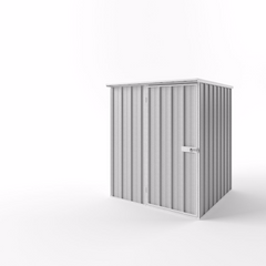 Flat Roof Garden Shed - 1.50m x 1.50m x 2.12m Height - Wide Span Sheds