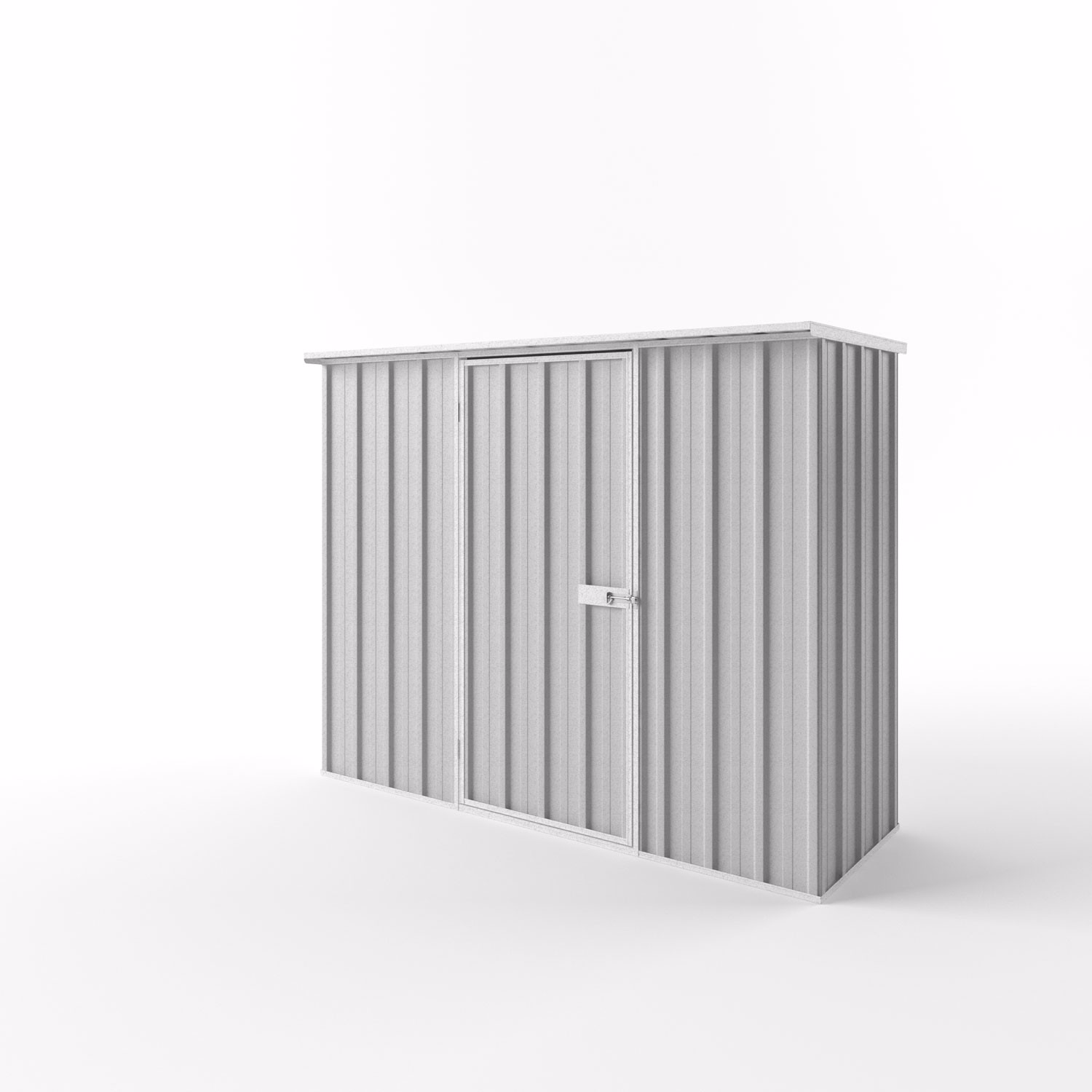 Flat Roof Garden Shed - 2.25m x 0.78m x 1.82m Height - Wide Span Sheds