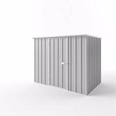 Flat Roof Garden Shed - 2.25m x 1.50m x 1.82m Height - Wide Span Sheds