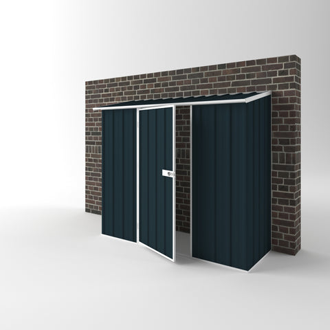 Off the Wall Shed - 2.25m x 0.78m x 1.95m Height