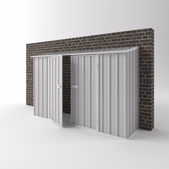 Off the Wall Shed - 3.00m x 0.78m x 1.95m Height