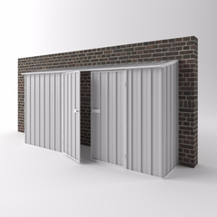Off the Wall Shed - 3.75m x 0.78m x 1.95m Height