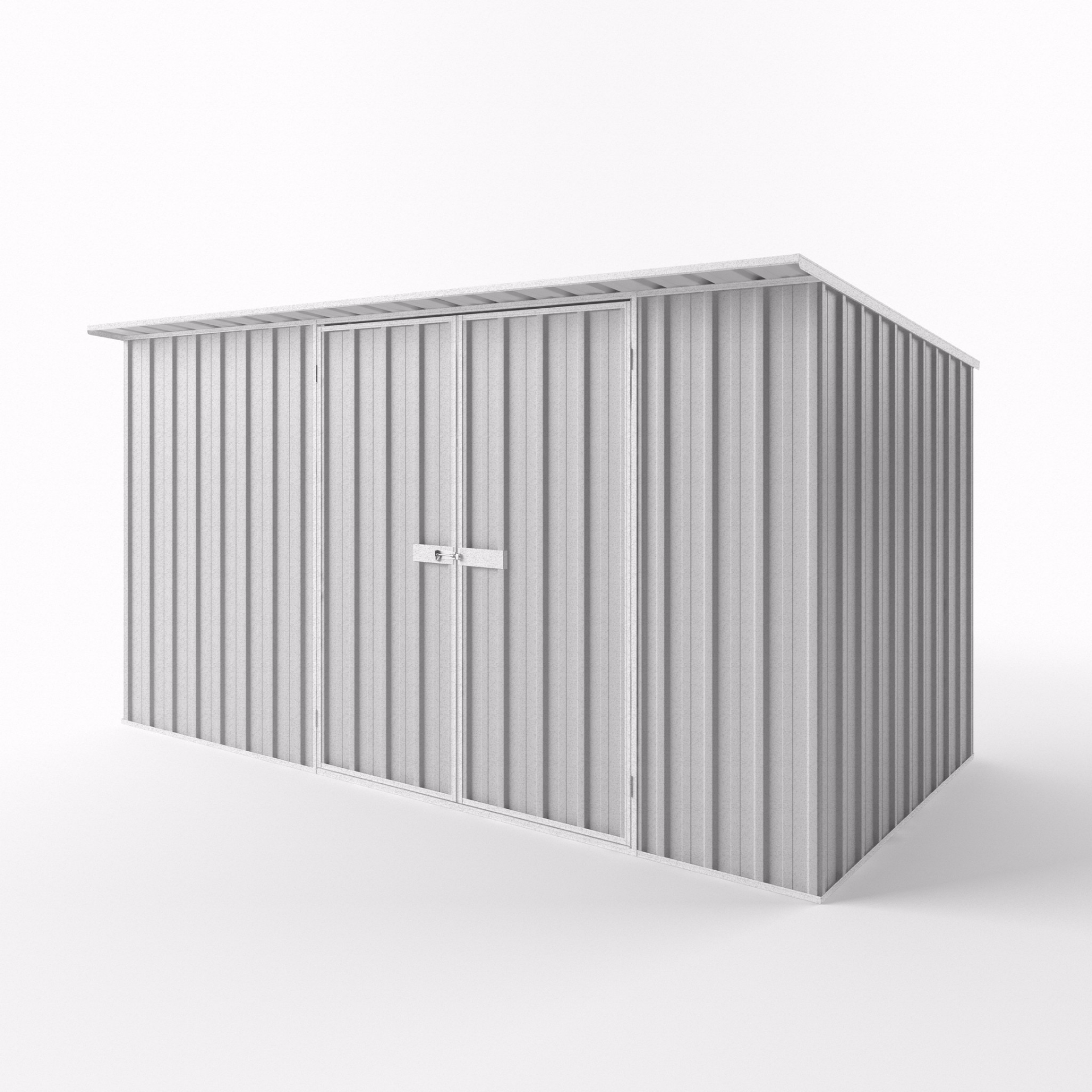 Skillion Garden Shed - 3.75m x 1.90m x 2.10m Height