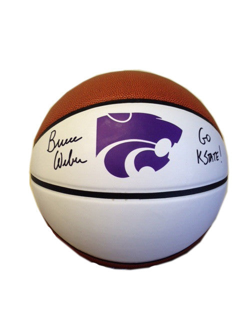 Bruce Weber, K-State Wildcats Autographed Basketball