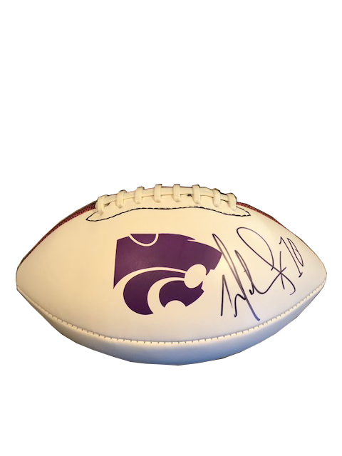 Martin Gramatica Autographed Football