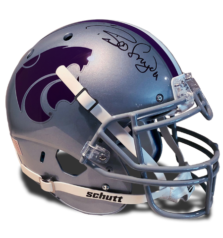 Bill Snyder, Kansas State Autographed Football Helmet
