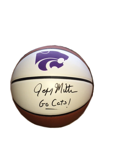 Jeff Mittie, K-State Wildcats Women's Autographed Basketball