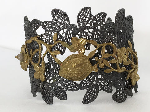 Lotta, Bracelet - Antique Bronze