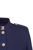 Atelier Francesca Military Jacket epaulet and button details