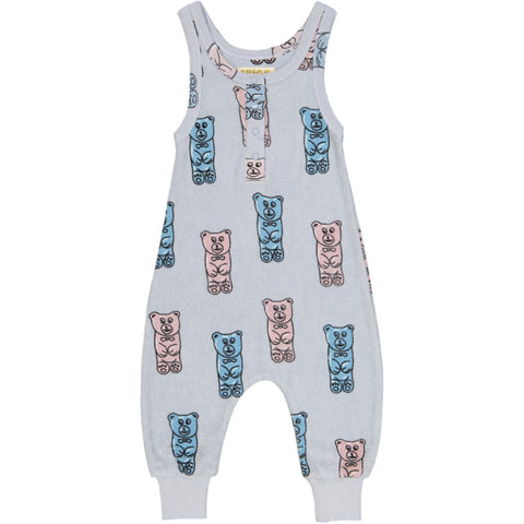 Hugo Loves Tiki Unisex Terry Long Leg Playsuit