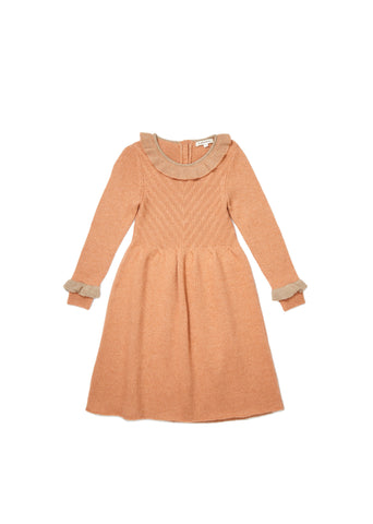 CARAMEL Amberly Dress - Coral Haze